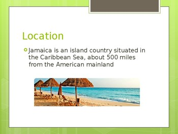 Jamaican Winter Holiday Project Example