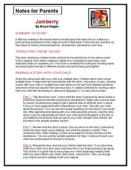 Jamberry Parent Notes