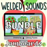Jamboard™: Back to School   Welded/Glued Activities Bundle