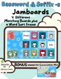 Jamboard™: Baseword & Adding Suffix -s (Fundations and Wil