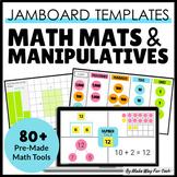 Jamboard Math Mats   Jamboard Templates   Digital Math Mats and Manipulatives