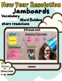 Jamboard™: New Year Resolution