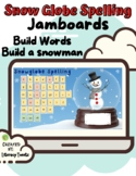 Jamboard™:Snow Globe Spelling (Fundations/Wilson Reading S