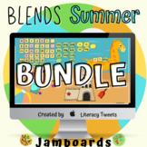Jamboard™: Summer / Beach Blends Activities Bundle