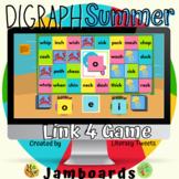 Jamboard™: Summer / Beach Digraph Activities | Link 4 Game