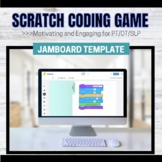Jamboard Template: Code Moves Activity for OT/PT/SLPs