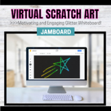 Jamboard Template for OT/Art: Magic Glitter Scratch Art