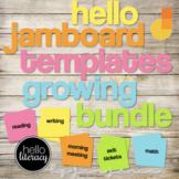Jamboard™ Templates Growing Bundle