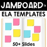 Jamboard Templates for ELA : Jamboard™ discussions, readin