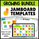 Jamboard Templates for Morning Meeting | Jamboard Math | End of the Year