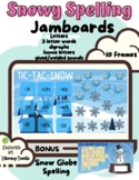 Jamboard™: Snowy Spelling (Fundations/Wilson Reading Syste