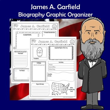 James A. Garfield President Biography Research Graphic Organizer