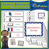 James Baldwin Interactive Foldable Booklets - Black History Month