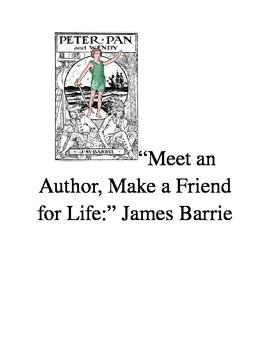 "James Barrie and Lewis Carroll:  ""Meet an Author, Make a F"
