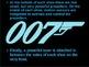 James Bond Gadget Product Student Presentation Sample