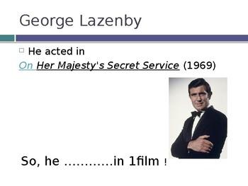 James Bond: actors