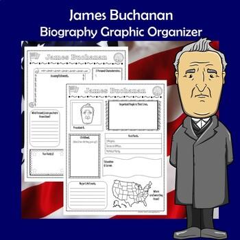 James Buchanan President Biography Research Graphic Organizer