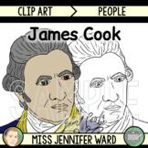 James Cook Clip Art