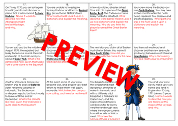 Captain James Cook Board Game (Part B)