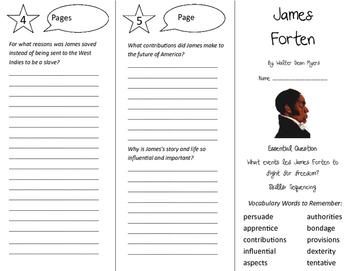 James Forten Trifold - Journeys 5th Grade Unit 3 Week 4 (2011)