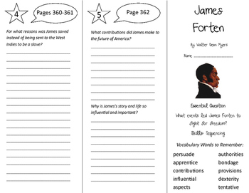 James Forten Trifold - Journeys 5th Grade Unit 3 Week 4 (2011)