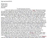 "James Joyce ""Araby"" Short Analysis Unit"