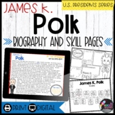 James K. Polk: Biography, Timeline, Graphic Organizers, Text-based Questions
