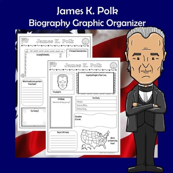 James K. Polk President Biography Research Graphic Organizer