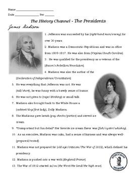 James Madison - A&E Series The Presidents