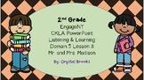 James Madison CKLA L & L Domain 5 Lesson 3