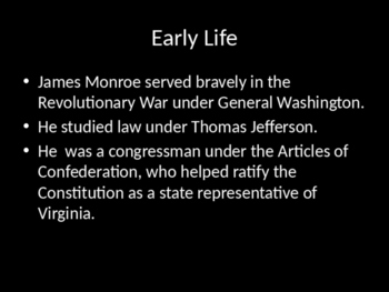 James Madison Introduction