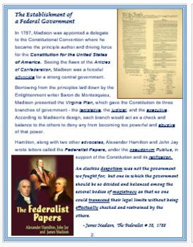 James Madison + Assessment