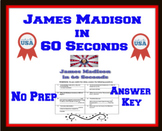 James Madison in 60 Seconds