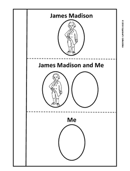 James Madison's Interactive Notebook Pages