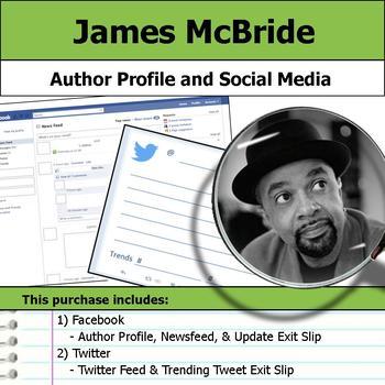 James McBride - Author Study - Profile and Social Media