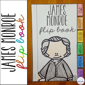 James Monroe Flip Book Activity