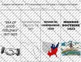 James Monroe Graphic Organizer