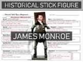 James Monroe Historical Stick Figure (Mini-biography)