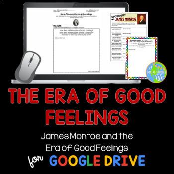James Monroe and the Era of Good Feelings