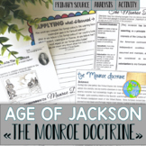 Monroe Doctrine - A Primary Source Analysis Lesson