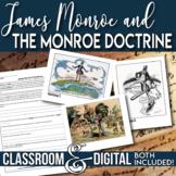 James Monroe and the Monroe Doctrine Cartoon Analysis