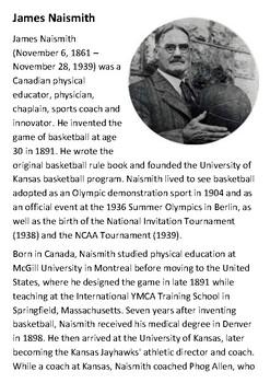 James Naismith Handout