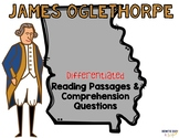 James Oglethorpe Differentiated Reading Passages & Questions