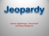 James Oglethorpe, Mary Musgrove, Tomochichi Jeopardy Review Game