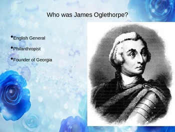 James Oglethorpe PowerPoint