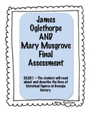 James Oglethorpe and Mary Musgrove Assessment SS2H1