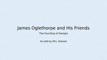 James Oglethorpe and the Other Folks