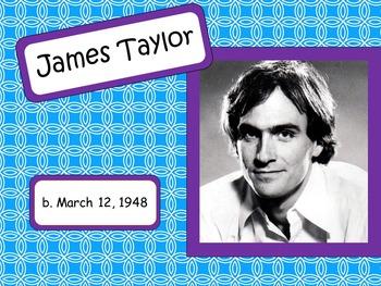 James Taylor: Musician in the Spotlight