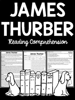 James Thurber Biography Reading Comprehension Secret Life of Walter Mitty
