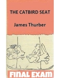 "James Thurber's ""The Catbird Seat"" Quiz (w/ Answer Key)"